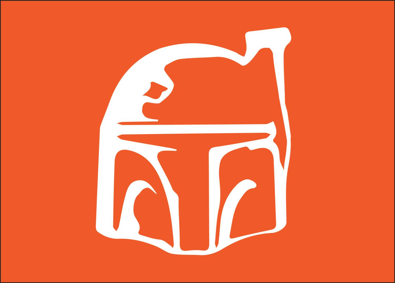 1500x1072 Star Wars Boba Fett Silhouette For Nurseryoys Room 5x7