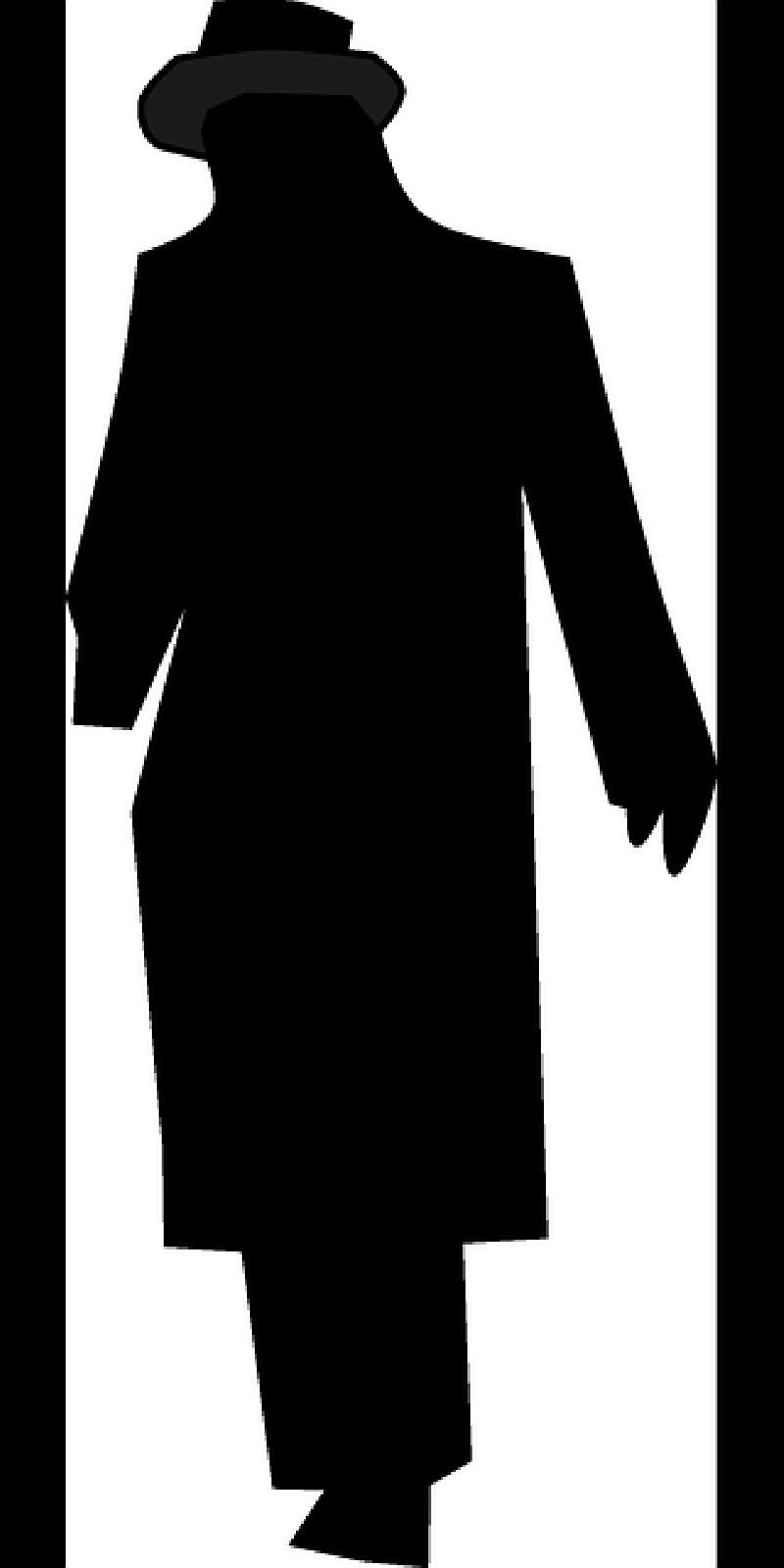 800x1600 Top, Man, Silhouette, Person, Hat, Night, Walking