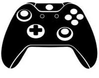 Xbox Controller Silhouette at GetDrawings.com | Free for ...