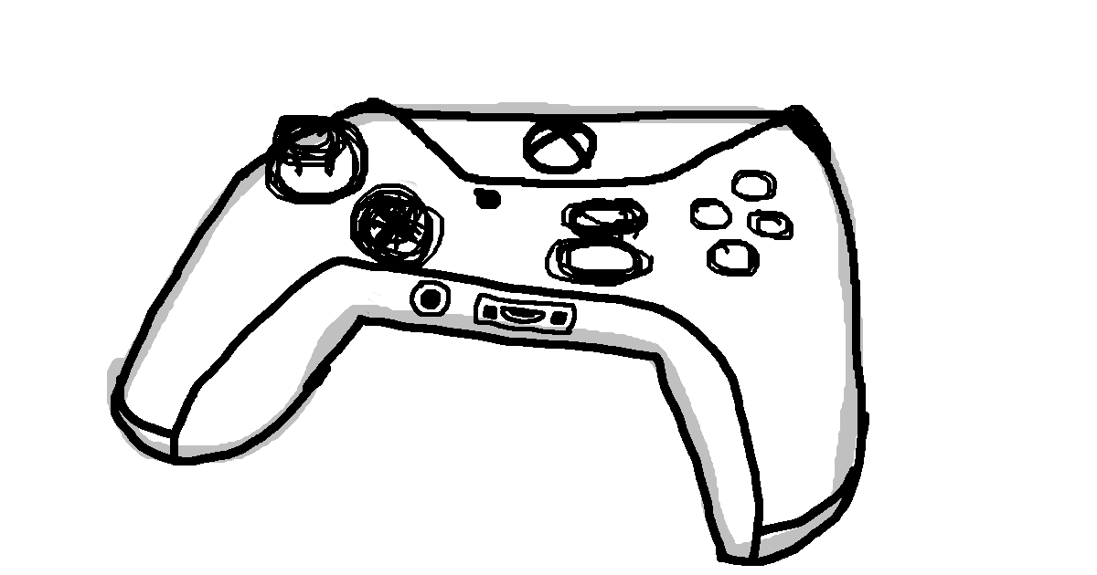 1200x630 Oc Learns To Draw Not A Person This Time, Xbox One Controller 23