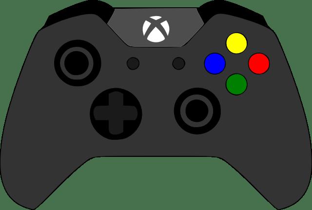 640x431 Xbox Controller Svg