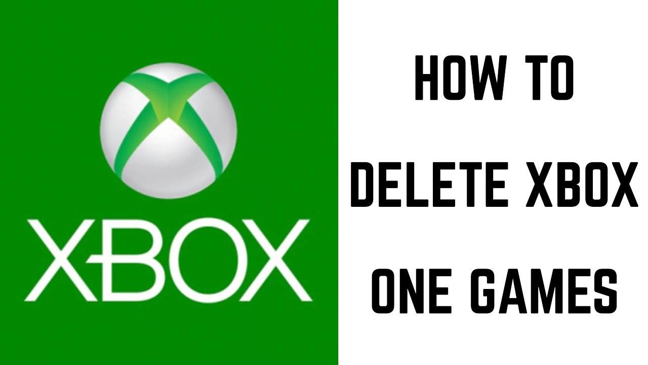 1280x720 How To Delete Xbox One Games