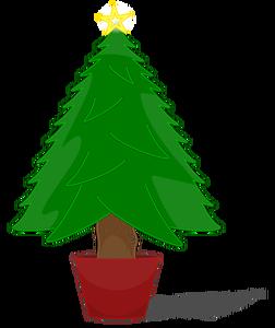 Xmas Tree Silhouette