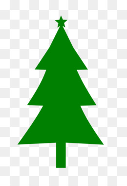 260x380 Christmas Tree Silhouette Clip Art
