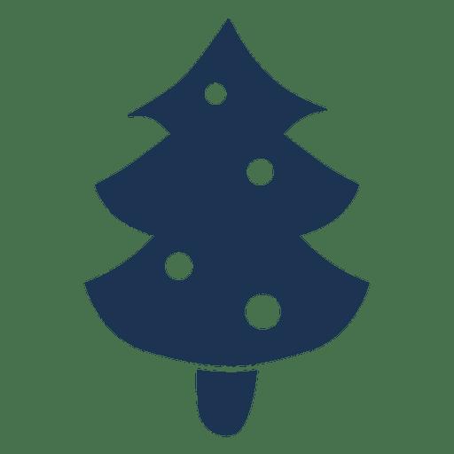 512x512 Christmas Tree Silhouette Icon 61
