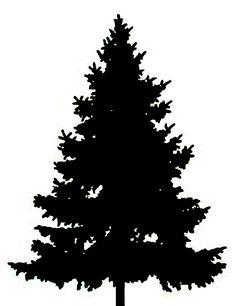 236x306 Pine Tree Silhouette Clip Art