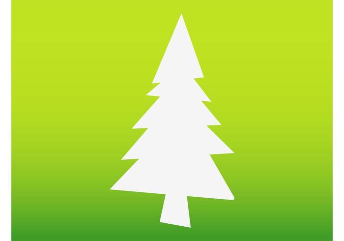 700x490 Christmas Tree Silhouette