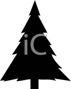 236x296 Christmas Tree Silhouette Silhouettes Christmas Tree