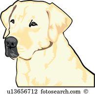 194x194 Labrador Clipart