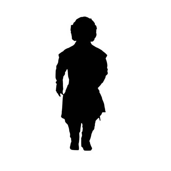 570x570 Tyrion Lannister Game Of Thrones Sticker Tyrion Silhouette