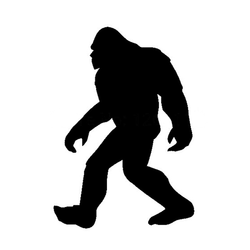 800x800 913cm Sasquatch Yeti Car Decals Reflective Stickers Motorcycle