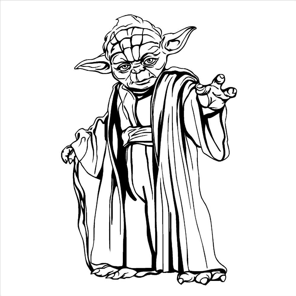 1000x1000 Yoda Showing Post Clipart