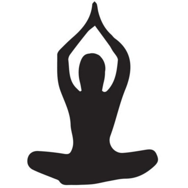 Yoga Pose Silhouette at GetDrawings com | Free for personal use Yoga