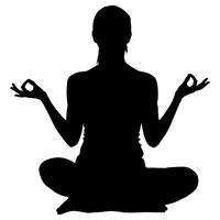 200x200 Silhouette Silhouettes Yoga Yogas Fitness Exercise Woman Women