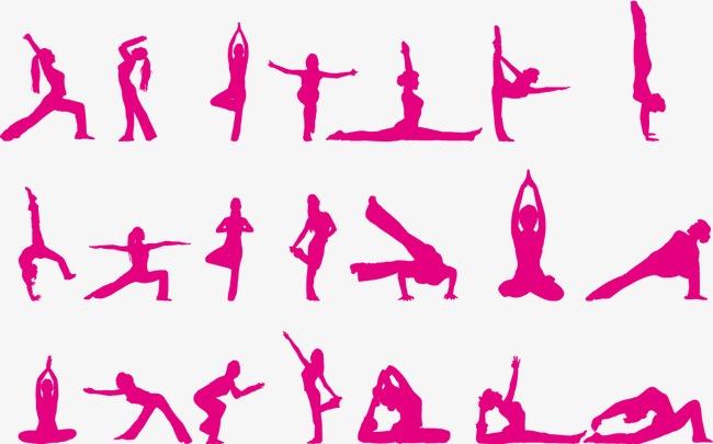 Yoga Silhouette Free