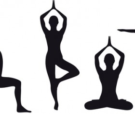 yoga silhouette vector at getdrawings com free for personal use rh getdrawings com yoga vector images yoga vector graphic