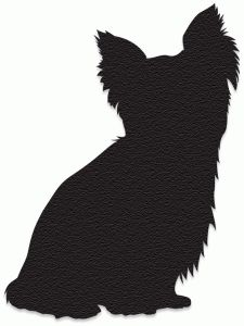 225x300 Image Result For Yorkie Silhouette Thanksgiving Crafts