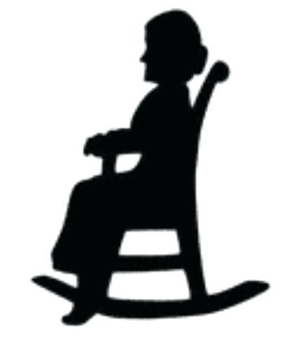 400x500 Grandma Rocking Chair Rocking Chair Silhouette Grandma Rocking