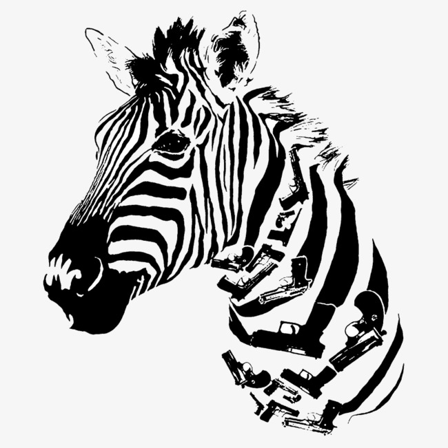 650x651 Zebra Silhouette, Zebra, Fashion, Trend Png Image And Clipart