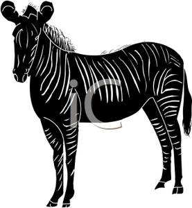 277x300 Zebra Silhouette
