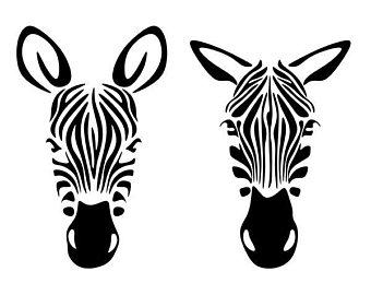 340x270 Zebra Svg Etsy