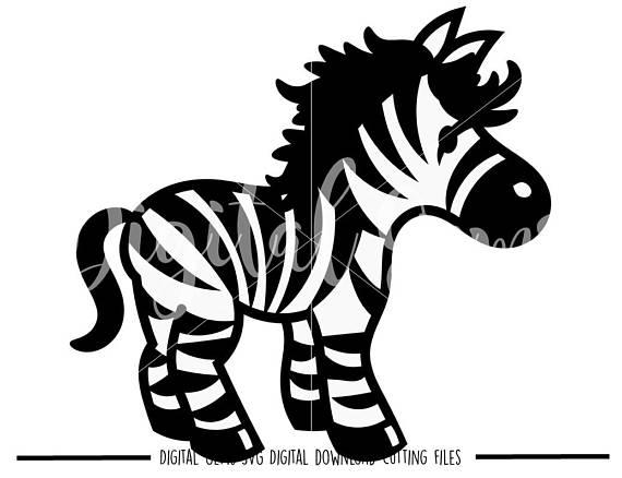 570x438 Zebra Svg Dxf Eps Png Files. Digital Download. Compatible