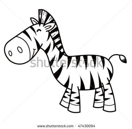450x440 Zebra Silhouette Baby Silhouette, Stenciling