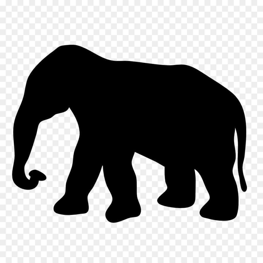 900x900 Elephant Silhouette Clip Art