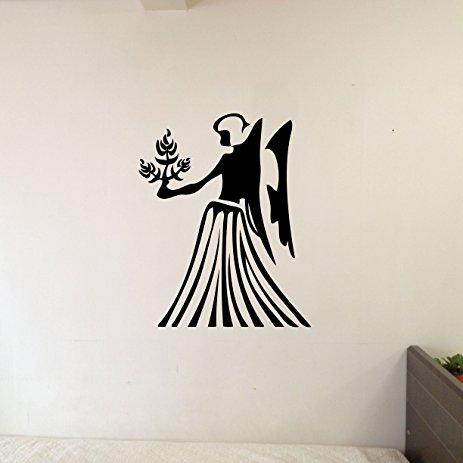 463x463 Virgo Zodiac Symbol Silhouette 6th Sign Maiden