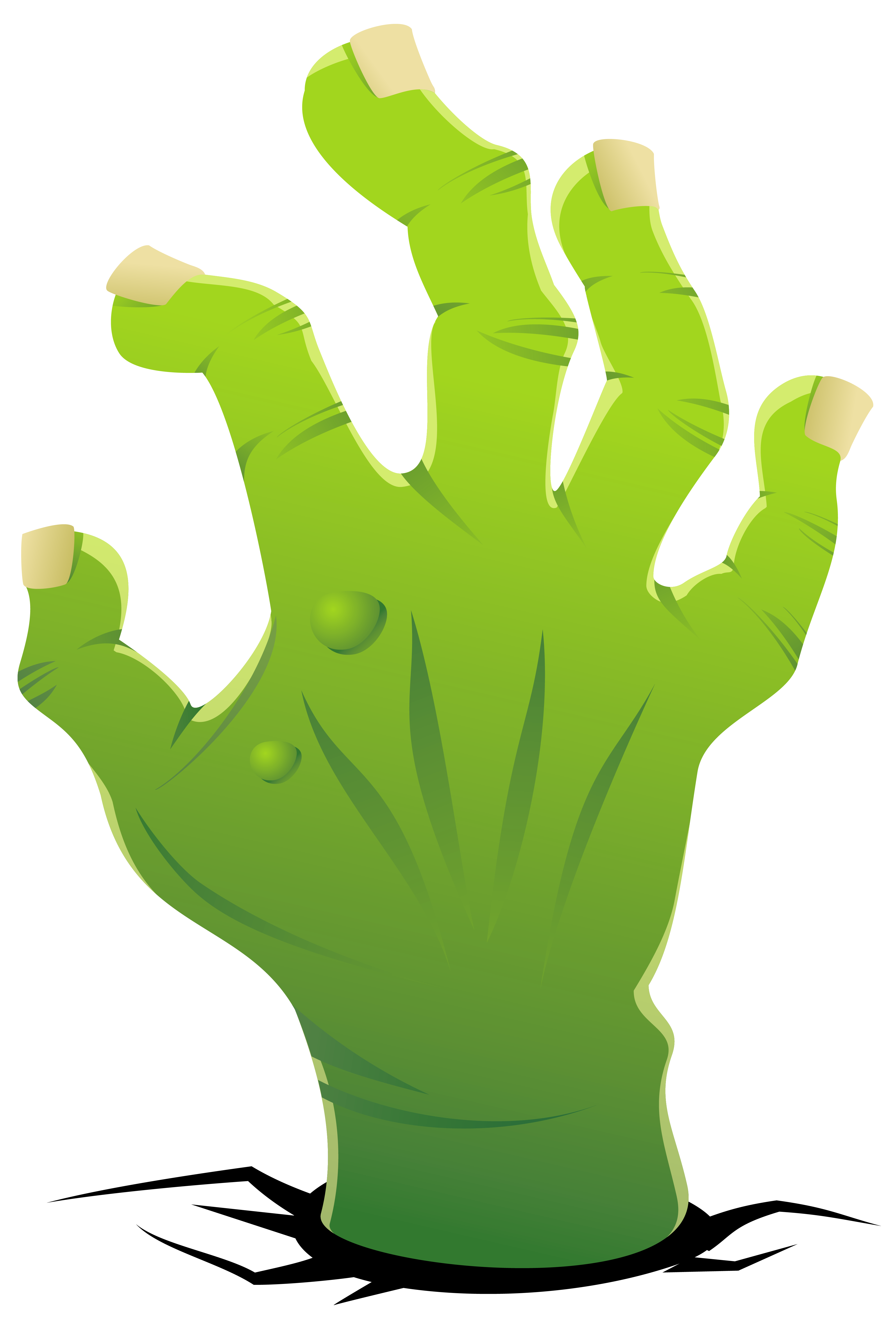 Zombie Hand Silhouette at GetDrawings | Free download