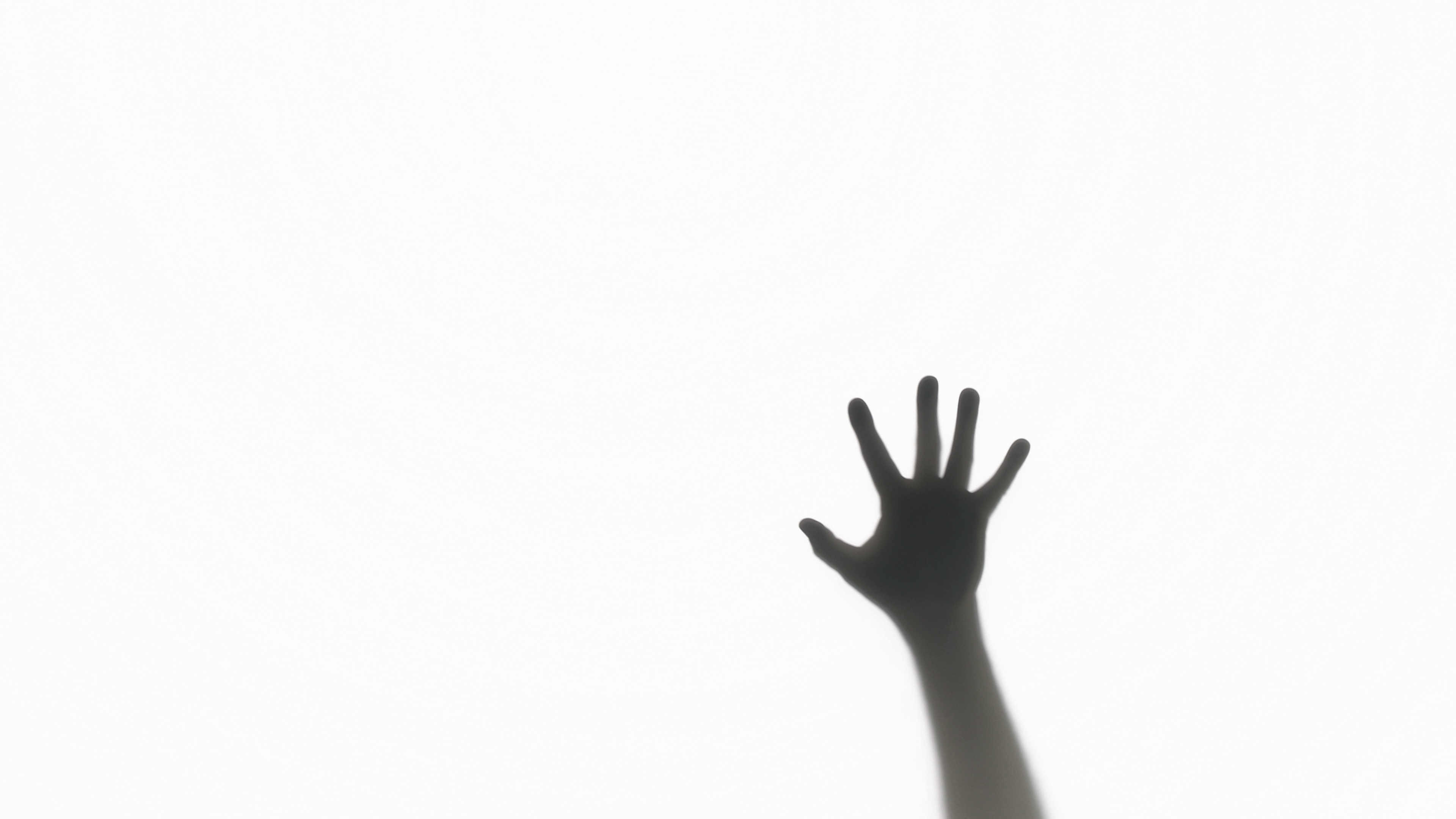 3840x2160 Silhouette Of A Zombie ~ Video Clip