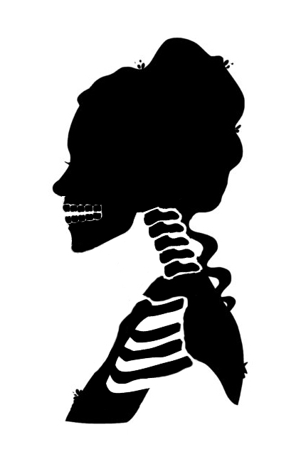 430x639 Victorian Zombie Silhouette Silhouette, Mad And Victorian
