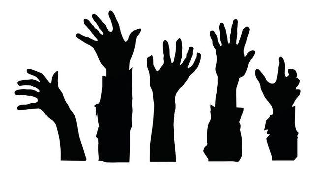 640x352 Zombie Hands
