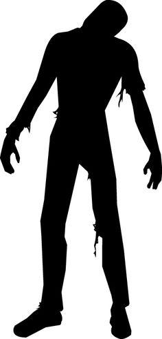 236x491 Zombie Silhouette Clipart Medium Size Zombie Shit