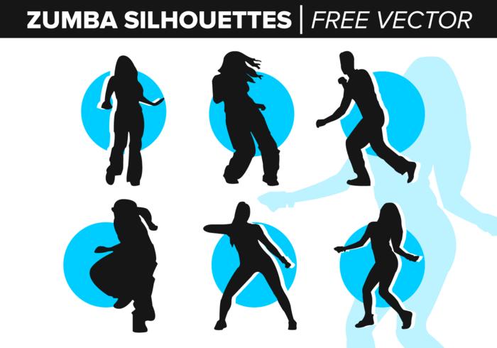 700x490 Zumba Dance Silhouette