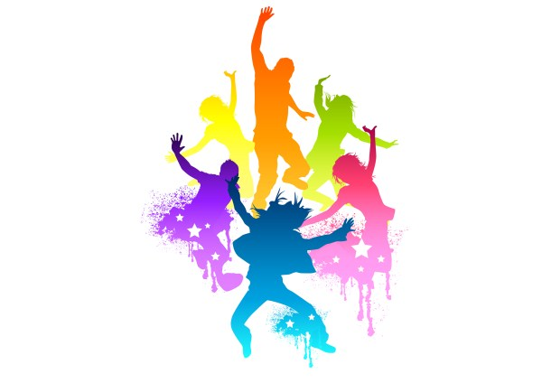 600x424 Zumba Dancer Clipart Dance Fitness Pencil And In Color Dancer