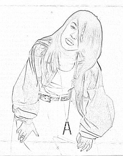 Aaliyah Drawing Step By Step