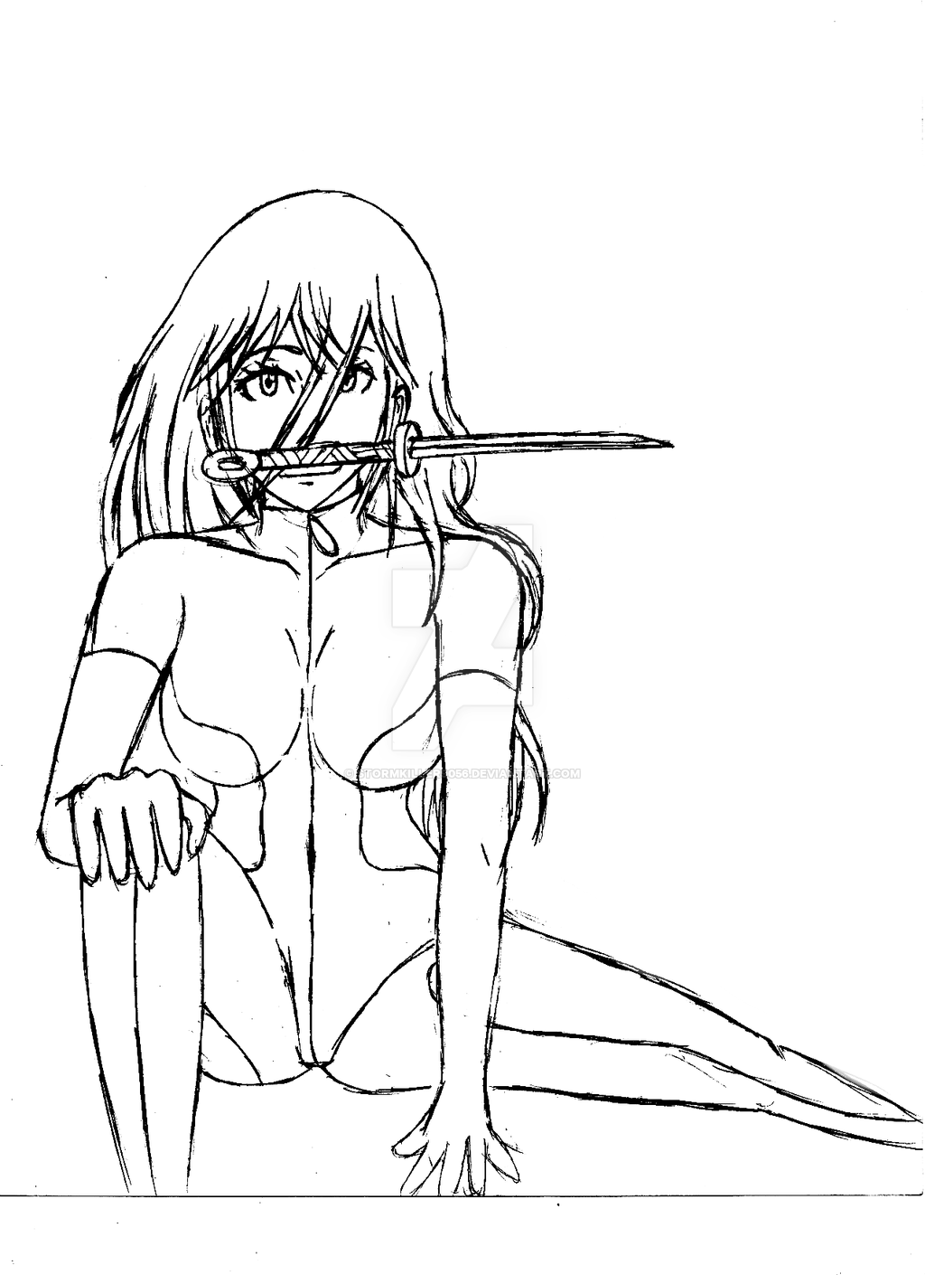 1024x1410 Aaliyah (Stealth Bodysuit) Concept Art Ii By Franciscojae
