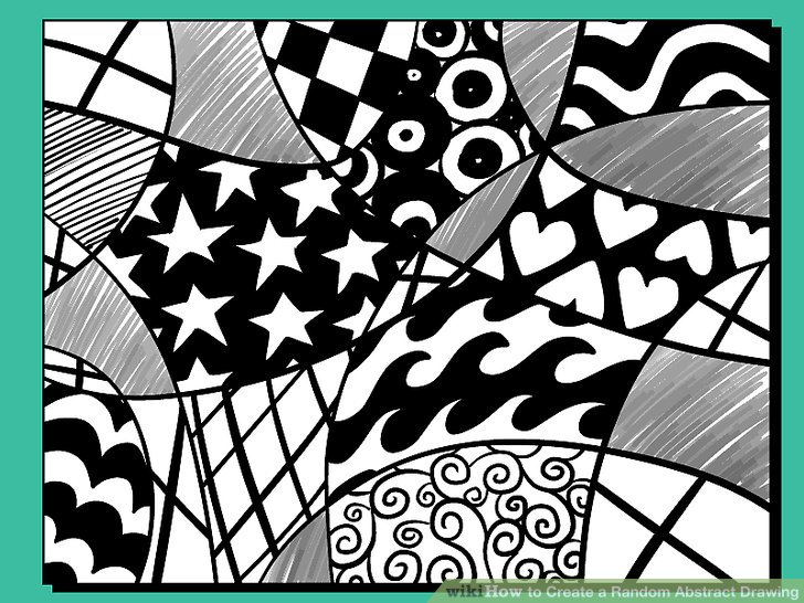 728x546 How To Create A Random Abstract Drawing 11 Steps (With Pictures)