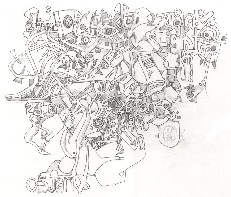 Abstract Drawing In Pencil At Getdrawings Com Free For