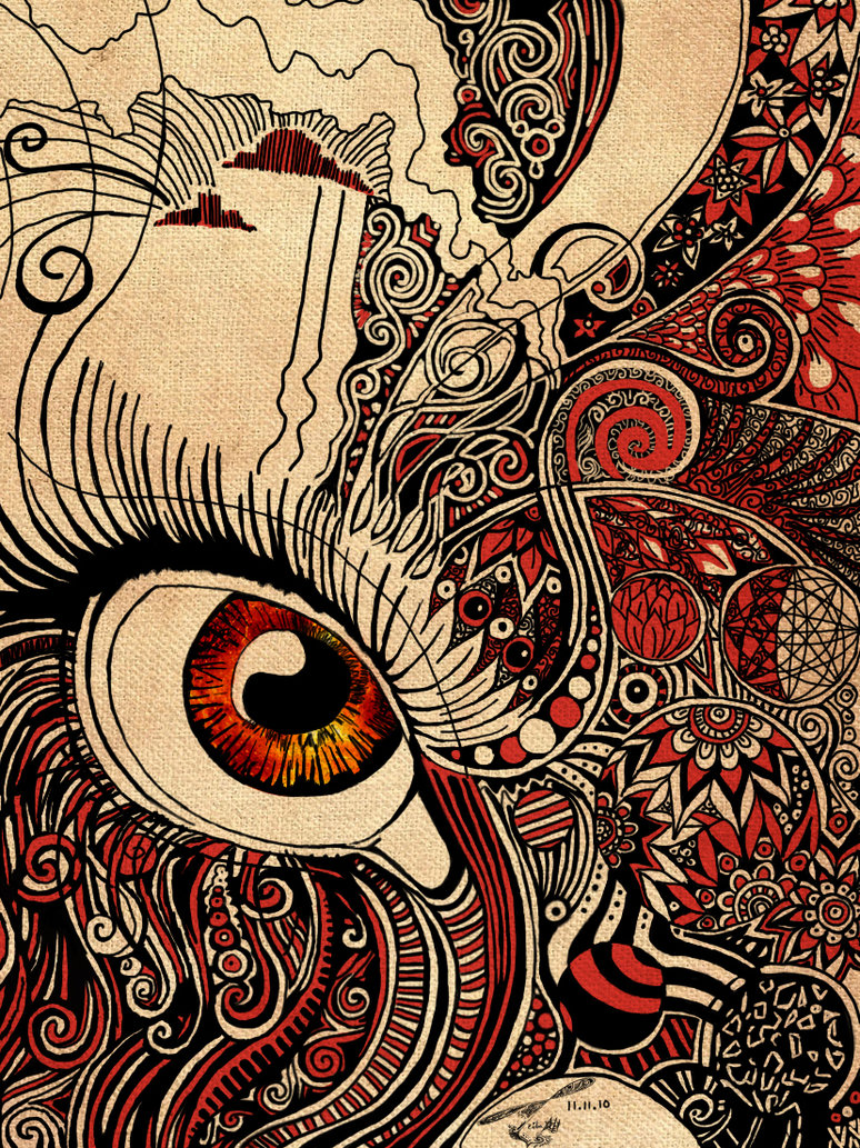 774x1033 Abstract Eye V2 By Bomuffin