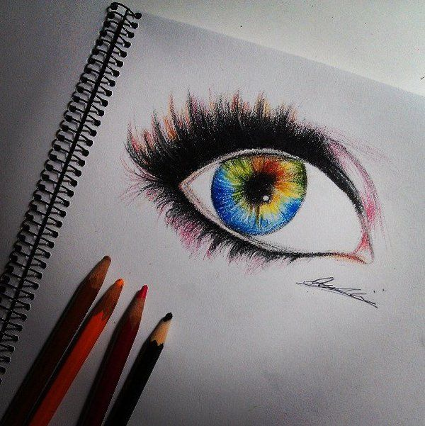 600x601 Abstract Eye Drawing By Drawinmiss On Art