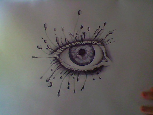 640x480 Abstract Eye By Bl3ath3r