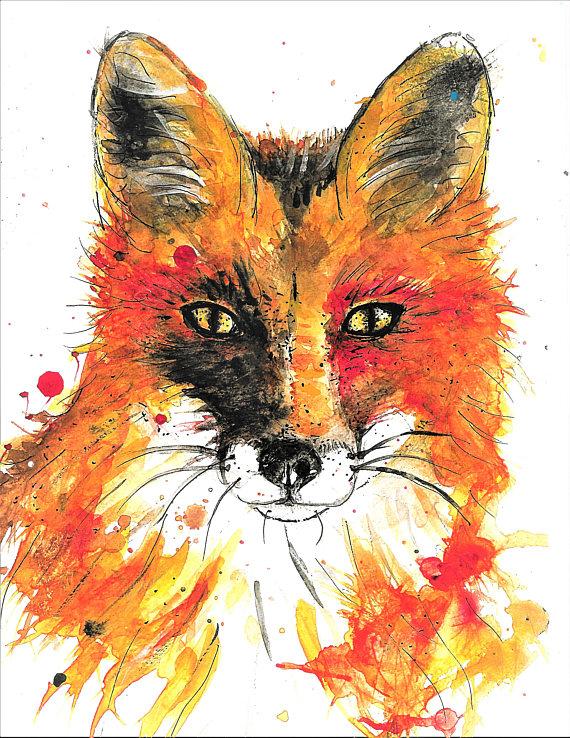 Abstract Fox Drawing At GetDrawings