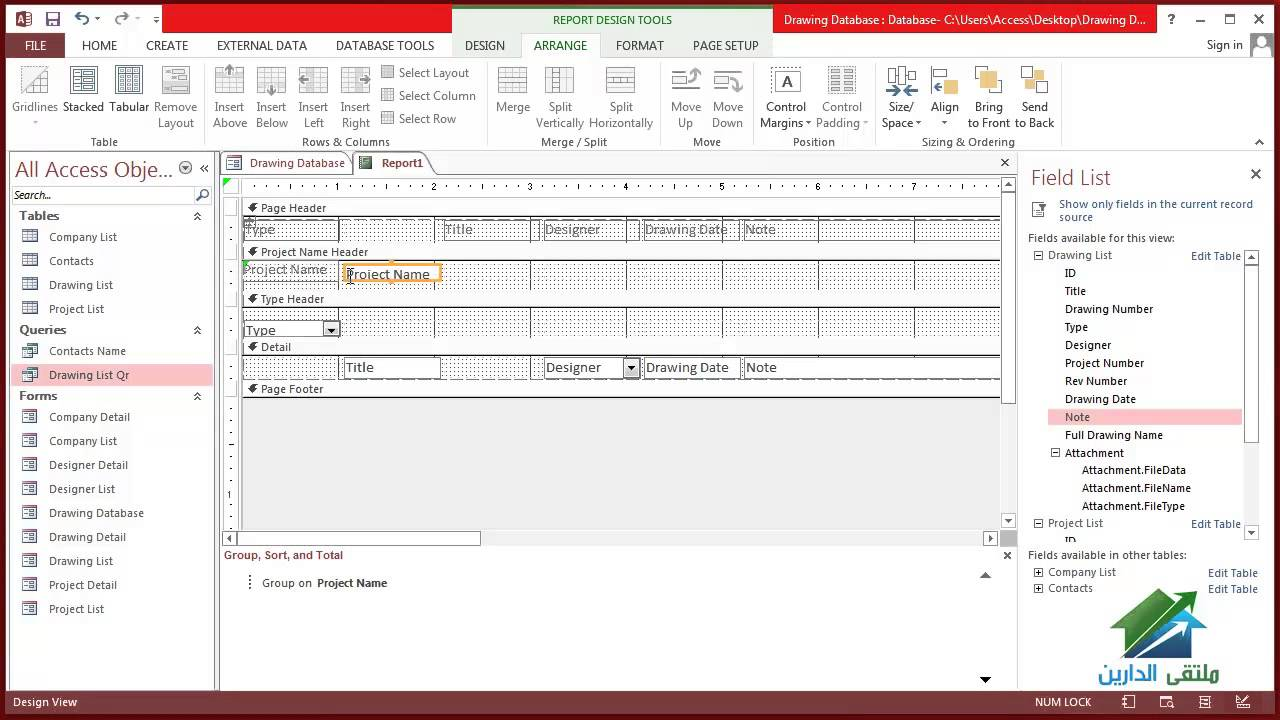 1280x720 1.4 Using Microsoft Access 2013 In Project Management
