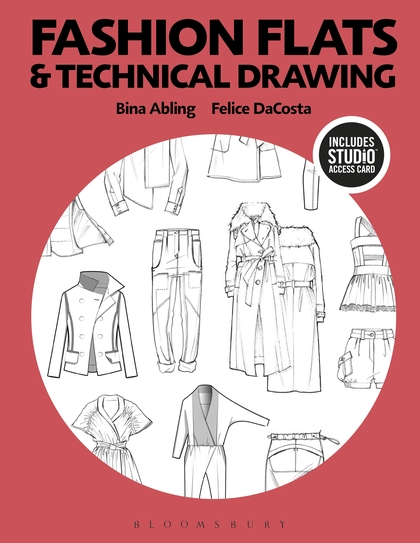 420x543 Fashion Flats And Technical Drawing Bundle Book + Studio Access