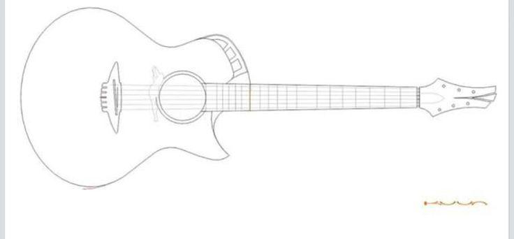 Acoustic Drawing At Getdrawings Com