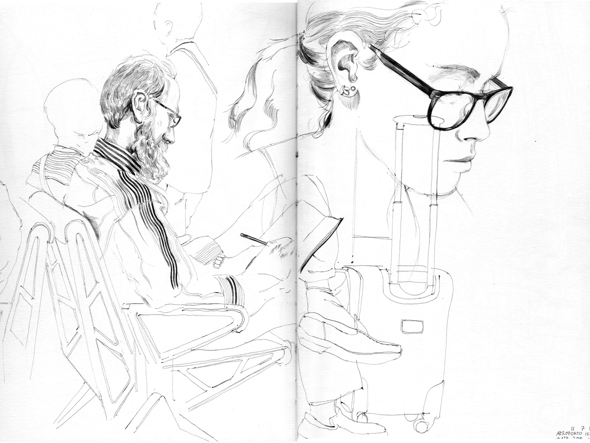 1200x900 Pov Sketches Put Viewers In The Drawing Seat
