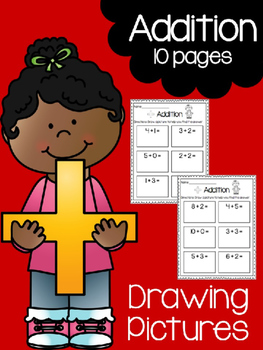 263x350 Addition Print Amp Practice Drawing Pictures By Kindergarten Busy Bees