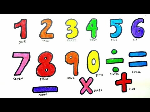 480x360 Learning Colors Numbers Math Addition Drawing Best Educational